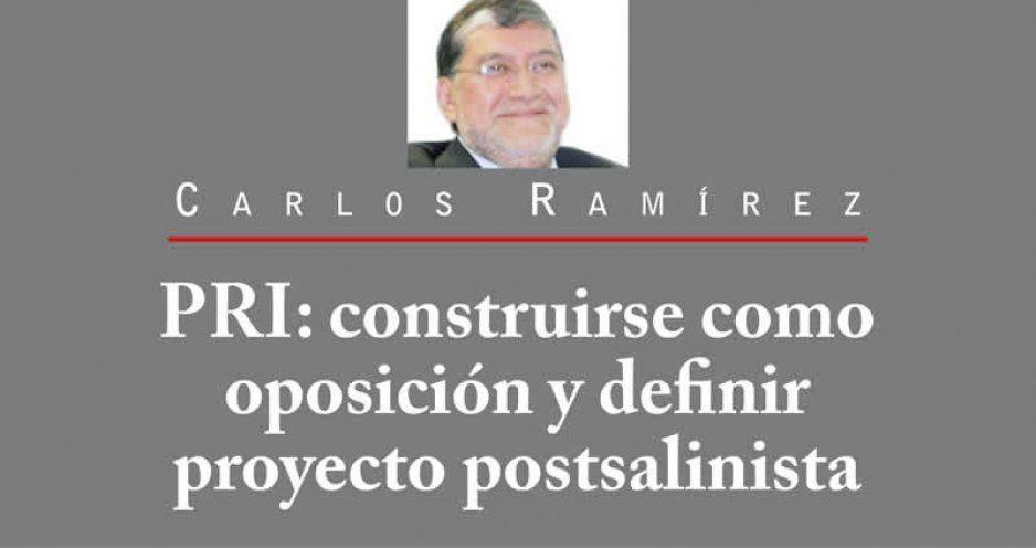 PRI: construirse como oposición y definir proyecto postsalinista