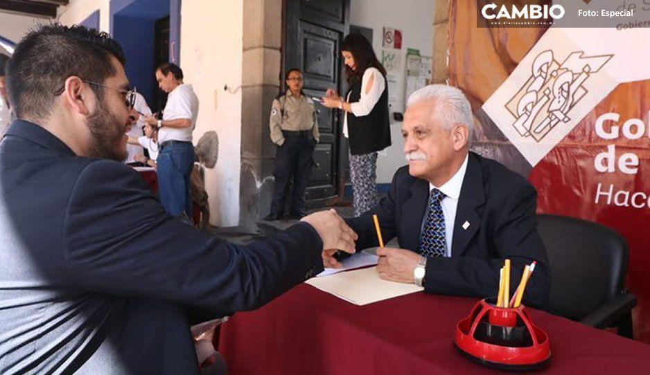 Subsecretario de Salud atiende a poblanos en segunda Jornada de Atención Ciudadana