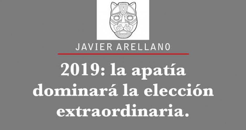 2019: la apatía dominará la elección extraordinaria