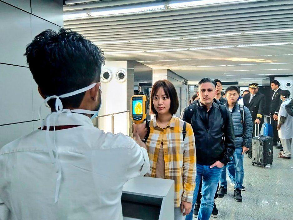Alerta en el Aeropuerto de CDMX por coronavirus