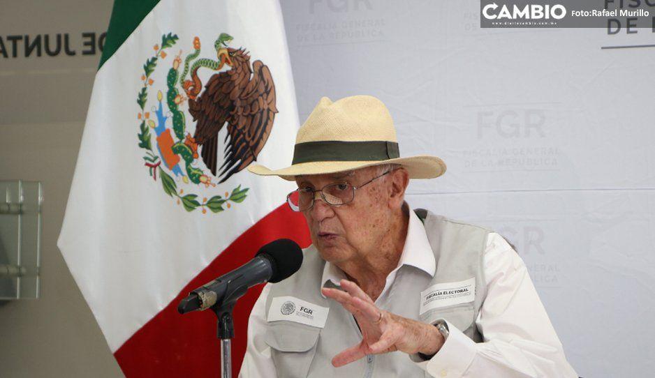 Elección en Puebla concentró el mayor número de denuncias en la Fepade: 63