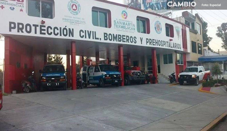 Despiden injustificadamente a tres bomberos de Texmelucan