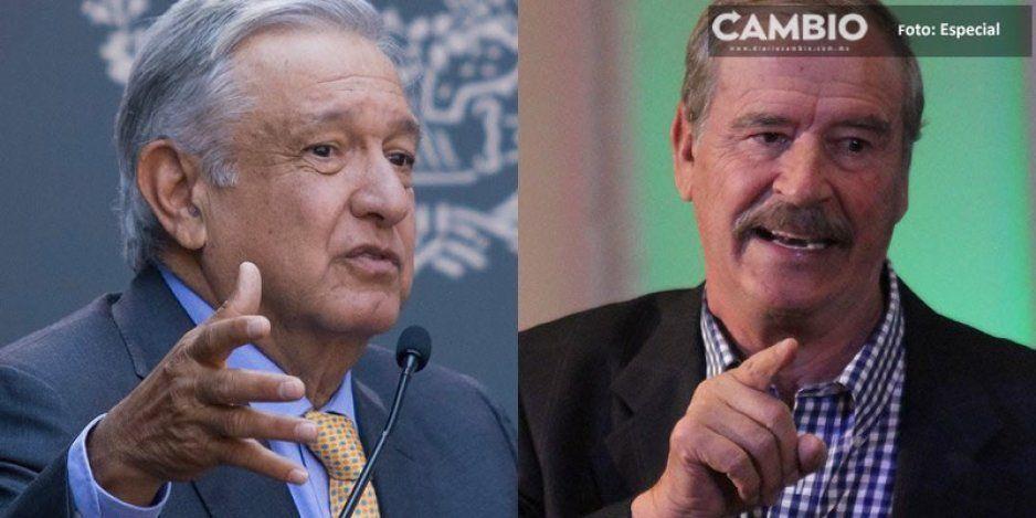 Vicente Fox le exige a AMLO terminar con la violencia en el país