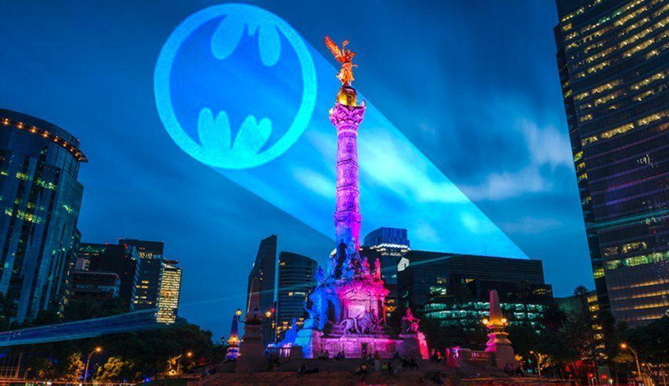 La Batiseñal será proyectada en México por los 80 años del superhéroe