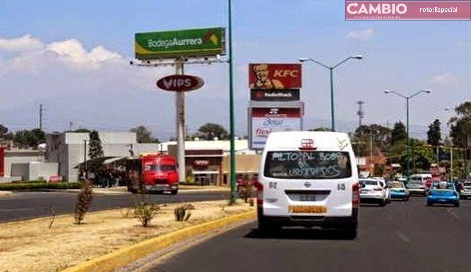 Desalojan a vecinos de Fuertes de Guadalupe por presencia de encapuchados en Cuatlancingo