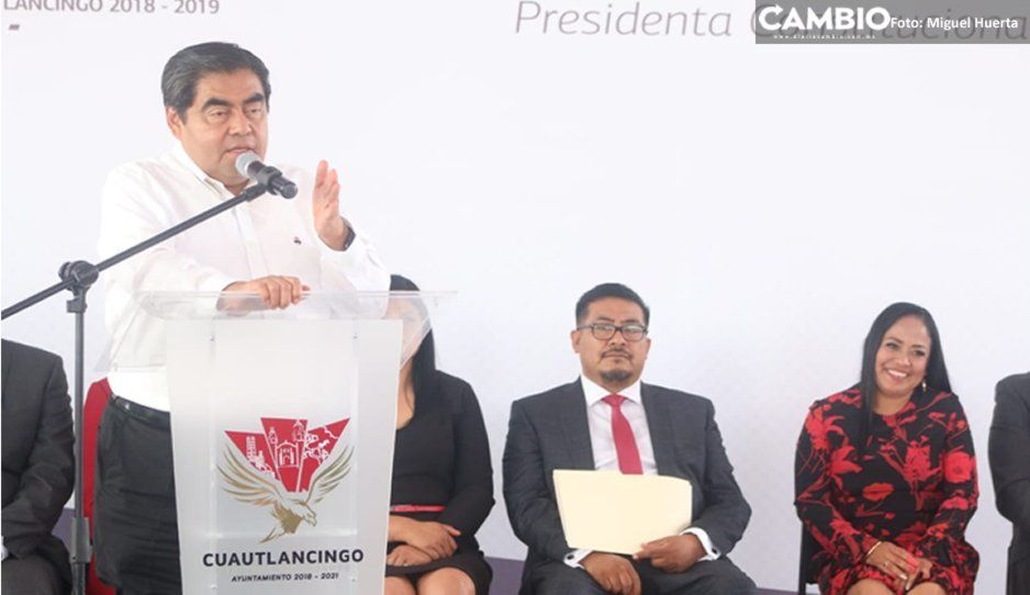 Deje una llave para que más adelante pueda ser aprobado el matrimonio igualitario en Puebla: Barbosa