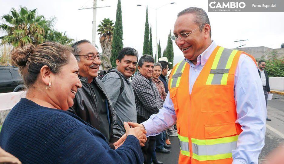 Guillermo Velázquez anuncia programa general de obras 2019 para el municipio de Atlixco