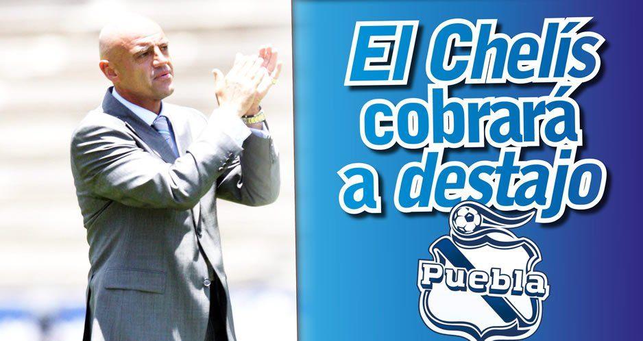 El Chelís cobrará a destajo en el Club Puebla