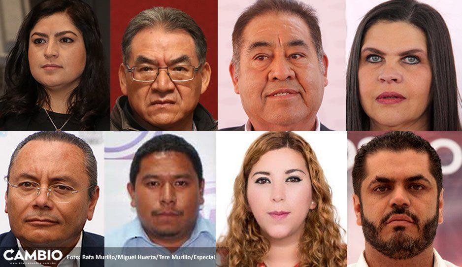 Solicitud de revocación de mandato vs Claudia, Melitón, De La Rosa, Layón y 4 más, desechada por el Congreso