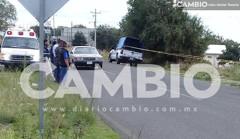 Otro feminicidio: Localizan a mujer encobijada en Domingo Arenas