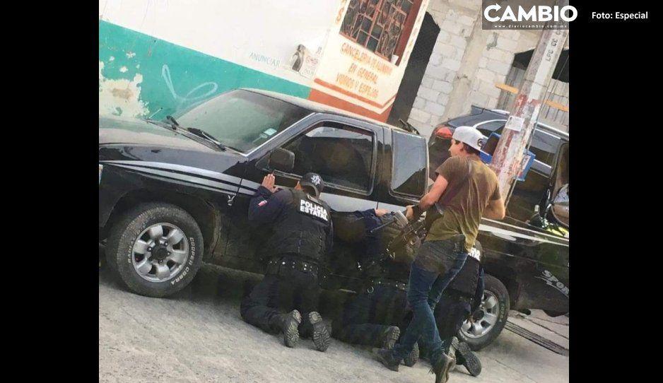 Edil de Juan Galindo hace mutis  tras levantón de policías estatales