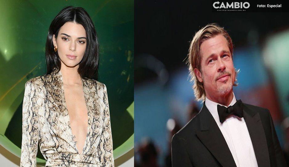 Brad Pitt puso tan nerviosa a Kendall Jenner que hasta huyó