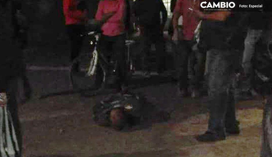 Depravado se salva de ser linchado tras intentar violar a una joven en Amozoc