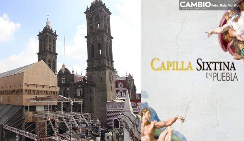 Lo que faltaba: en la réplica de la Capilla Sixtina habrá un sinfín de bautizos comunitarios