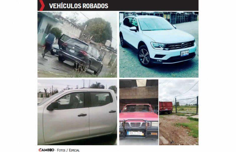 Los Covarrubios y Los Cubas controlan robo  de vehículos en Coronango y Cuautlancingo