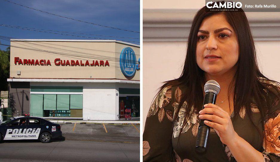 Asegura Claudia que quienes mataron a Nancy en Farmacias Guadalajara no quedarán impunes
