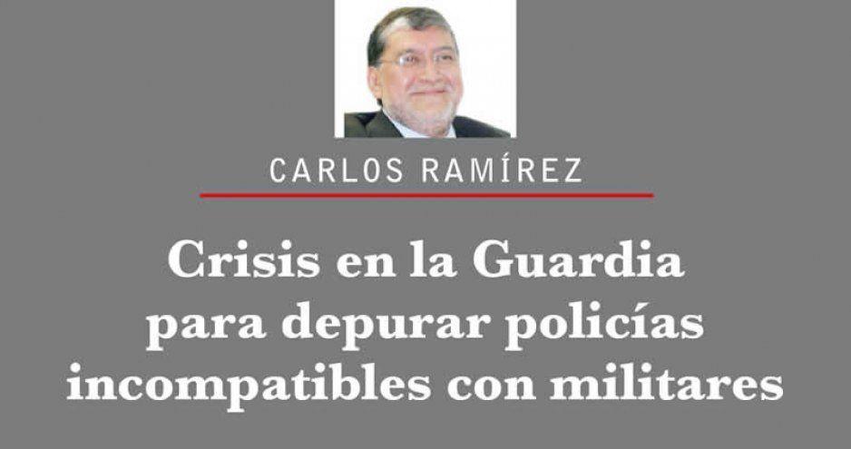 Crisis en la Guardia para depurar policías incompatibles con militares