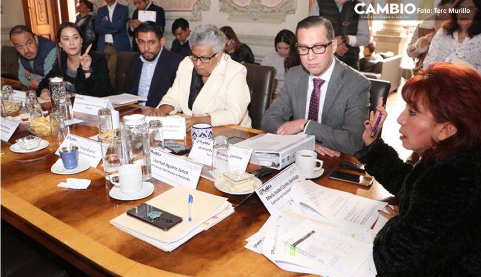 Regidores rechazan estado financiero de diciembre del gobierno municipal de Claudia