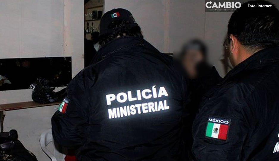 Detienen a policía tlaxcalteca que se dedicaba a extorsionar en San Martín