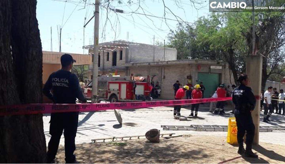 Trágico: Muere trabajador del ayuntamiento de Ajalpan ahogado en una alcantarilla