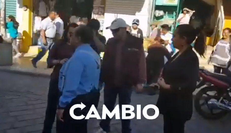 ¡Hasta aquí llegaron! Hacen operativo para evitar que se instalen los ambulantes (VIDEO)