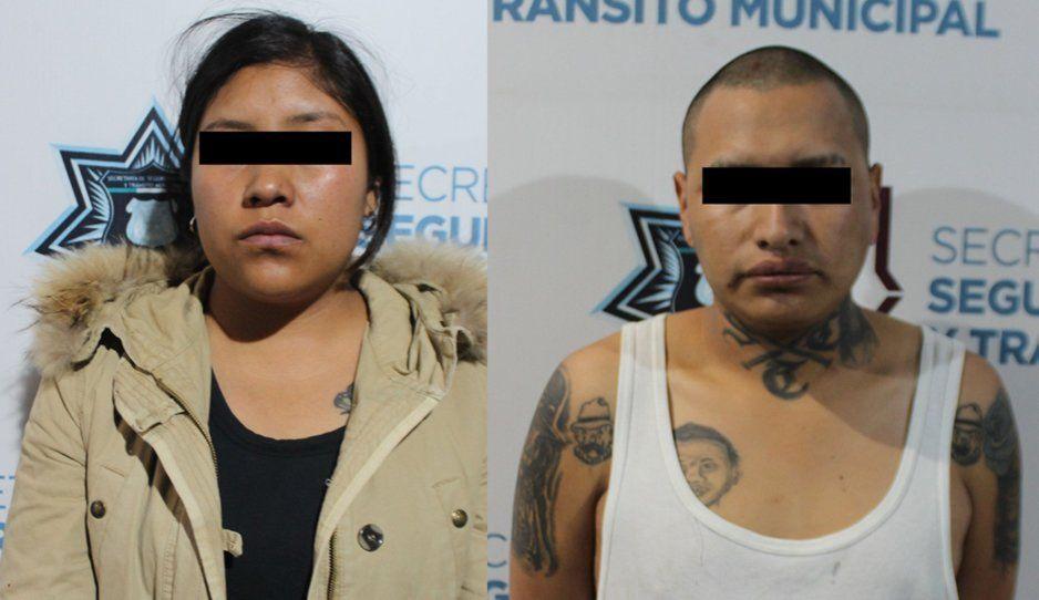 Decomisan droga y detienen a dos narcomenudistas en San Miguel Canoa