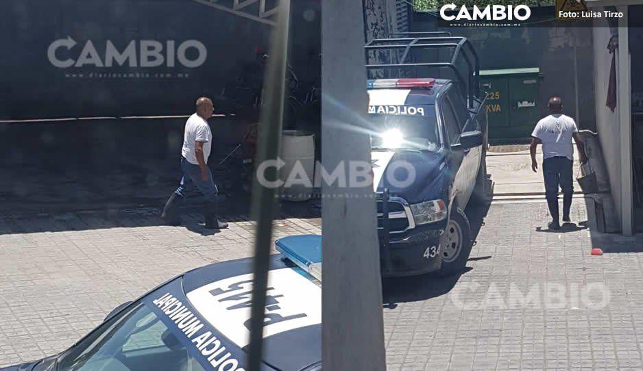 VIDEO: Convierten Complejo de Seguridad de San Andrés en car wash