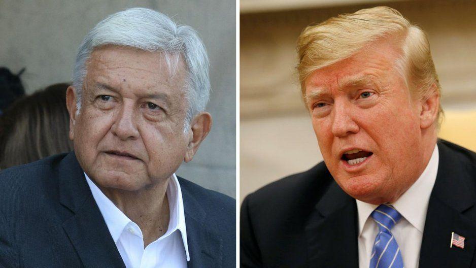 AMLO insiste a Trump que se anime a comprar el avión presidencial
