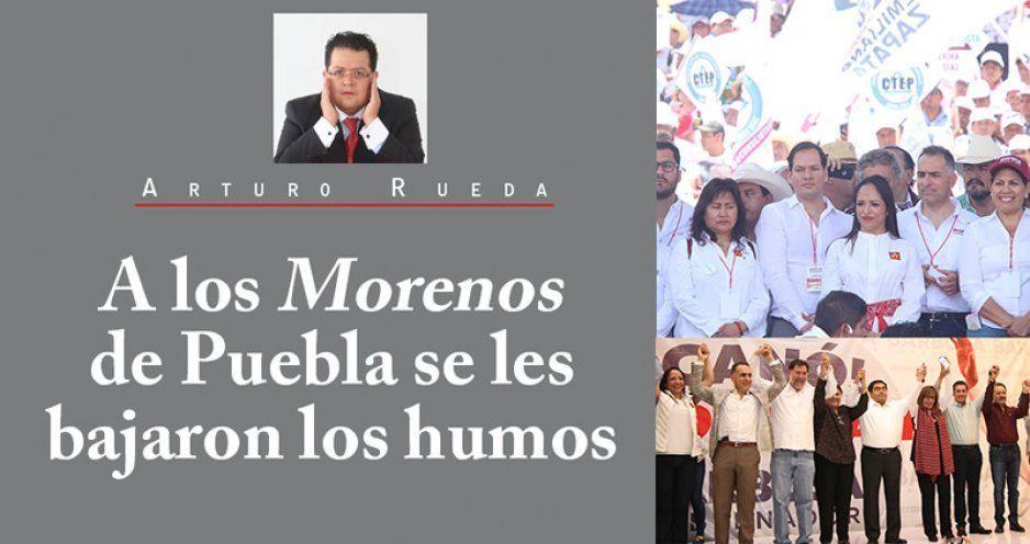 A los Morenos de Puebla se les bajaron los humos
