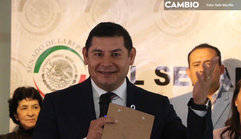 """Armenta ruin: alude a salud de Miguel  Barbosa al exigir """"gobernador dinámico"""""""