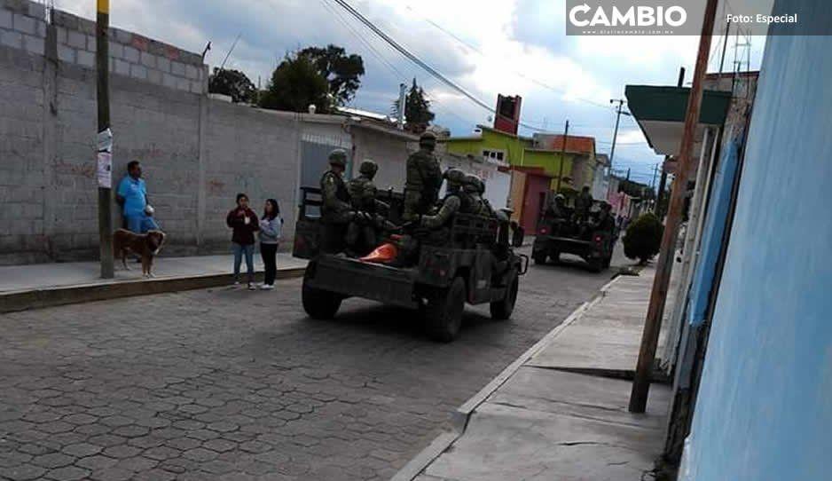 Robatrenes desarman a Guardia Nacional en Tlaxcala; buscan a agresores en Puebla