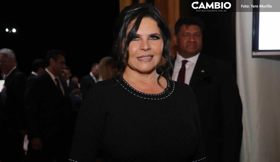 Norma Layón da certeza en materia de Seguridad Pública a habitantes de Moyotzingo, Texmelucan