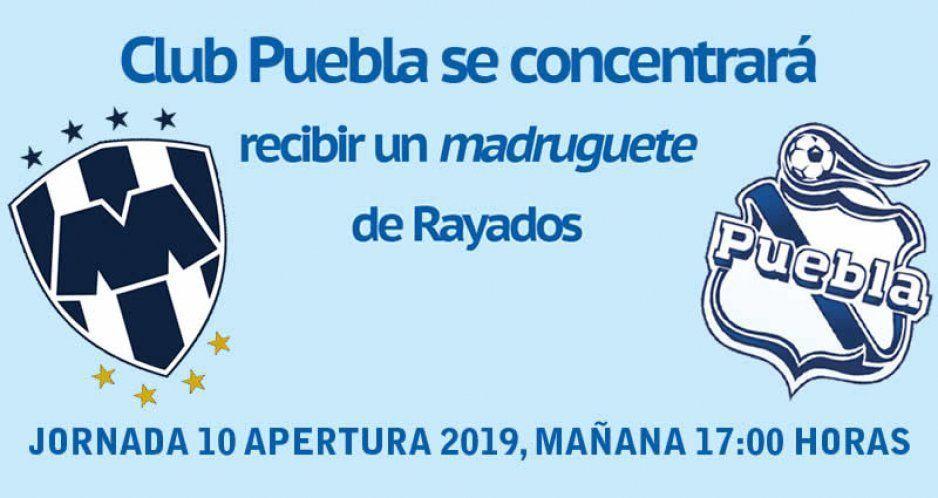 Club Puebla se enfocará en no recibir un gol madrugador en juego contra Rayados