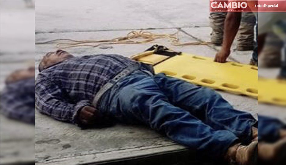 Muere presidente de Magdalena Yancuitlalpan tras caer de una escalera en plena posada