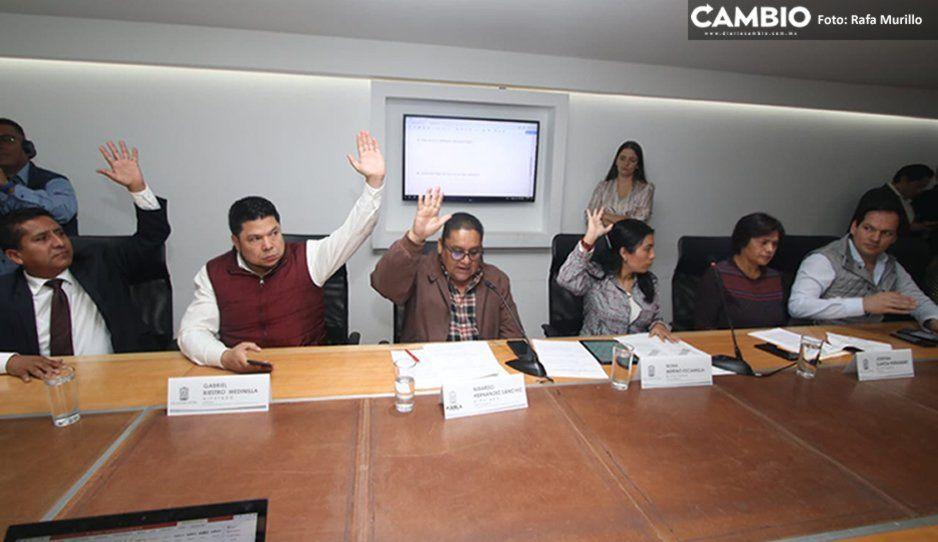 Diputados aprueban dictamen para la creación de la Agencia de Energía de Puebla