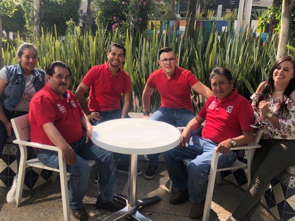 Marcos de los Santos presenta a vecinos de Ocoyucan plan de seguridad