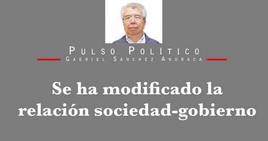 Se ha modificado la relación sociedad-gobierno
