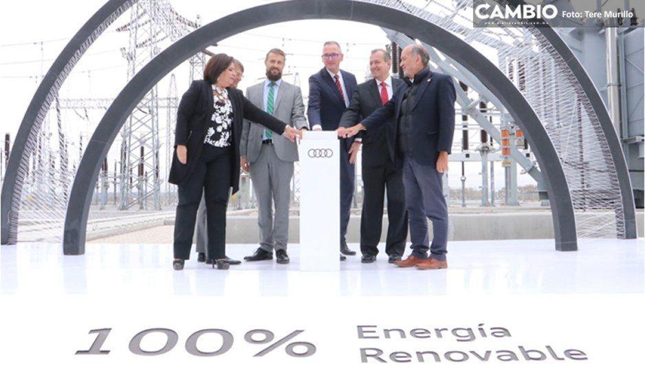 Audi implementa energías renovables en su producción (FOTOS y VIDEO)
