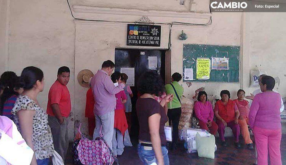 Internos exhiben prostitución y cobro de  atención médica en Cereso de Huejotzingo
