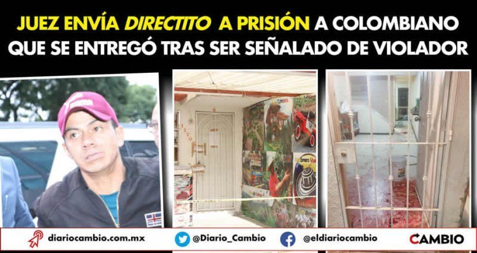 Juez envía directito a prisión a colombiano que se entregó tras ser señalado de violador