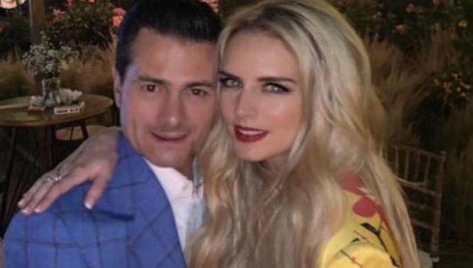 Tania Ruiz luce anillo y vestido de novia ¿Se casa con Peña Nieto? (VIDEO)