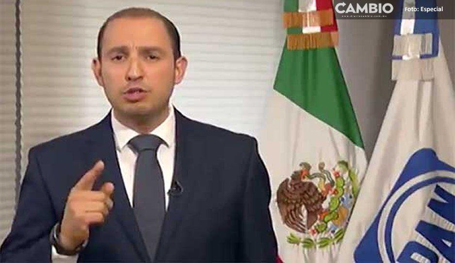 Aumenta posibilidad de un atentado: Marko Cortés referente al peritaje de la SCT sobre la muerte de MEA y RMV