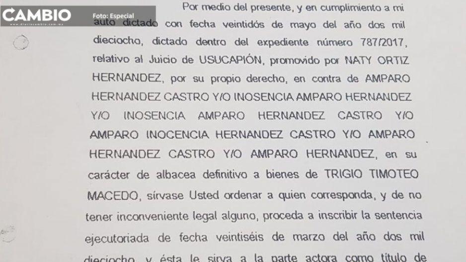 Ayuntamiento de Tehuacán se niega a cumplir la orden de jueces civiles sobre regularización de la Colonia Anahuac