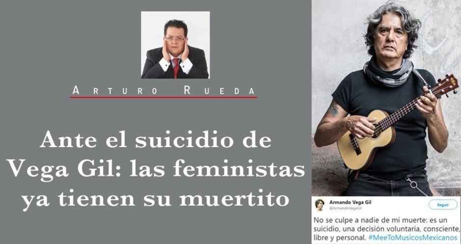 Ante el suicidio de Vega Gil: las feministas ya tienen su muertito