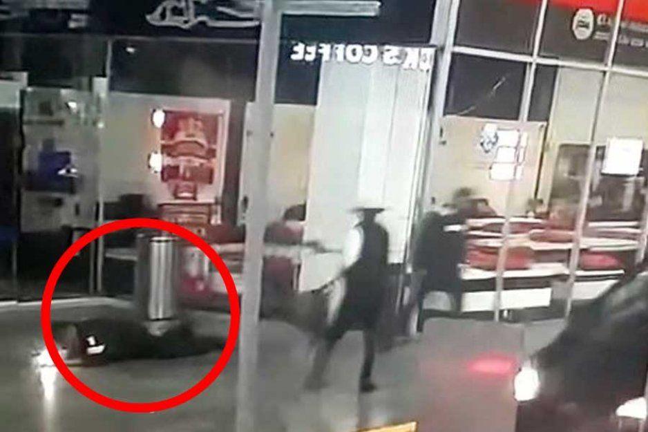 VIDEO: Asesinan por la espalda a policía en Interlomas