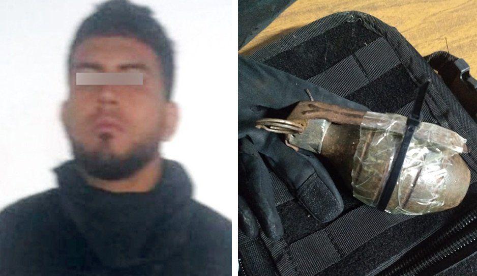 Terrorista poblano amenazaba con explotar Oxxo de Amozoc a granadazos