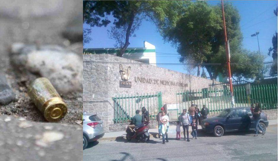 Bala perdida hiere a campesino en Tlalancaleca