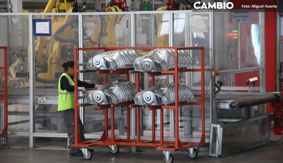 Paros técnicos de armadoras afectan a proveedoras: reducirán sueldos 50 %