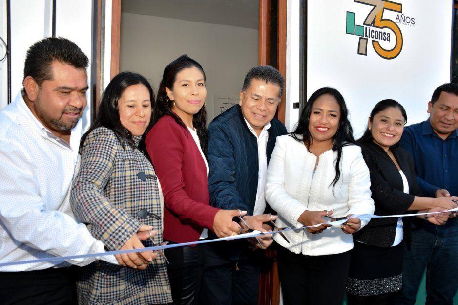 Inaugura Lupita Daniel cuatro lecherías Liconsa en beneficio de mil 230 habitantes de Cuautlancingo