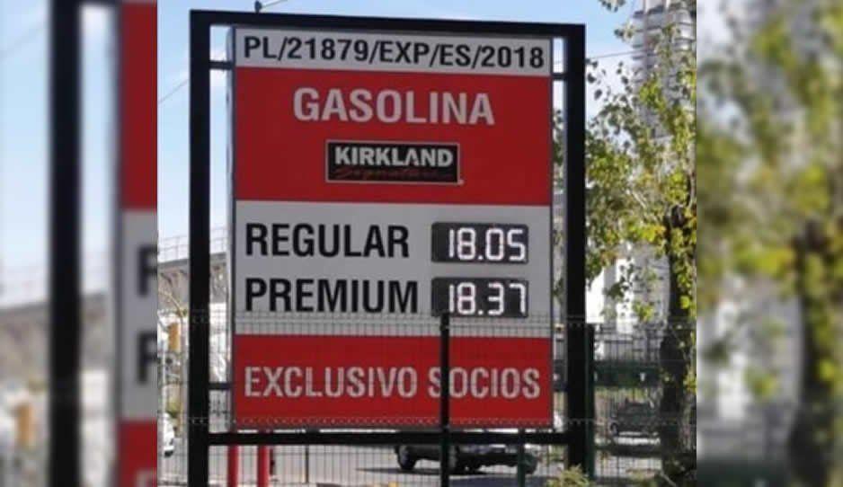 ¡Precios de locura! Gasolina hasta en 18.05 el litro en Costco